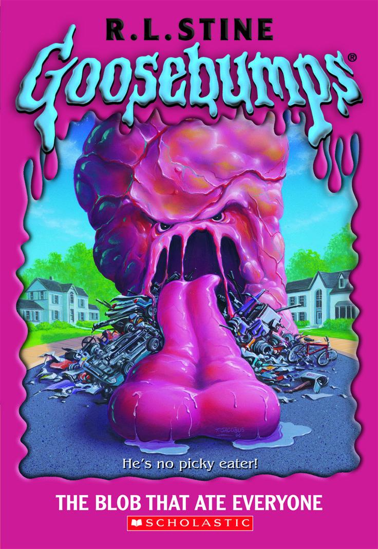 Goosebumps Birthday on Bulletin Board Kids Monsters