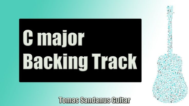 Backing Track in C Major Slow Rock Ballad with Chords and C Major Pentatonic Scale