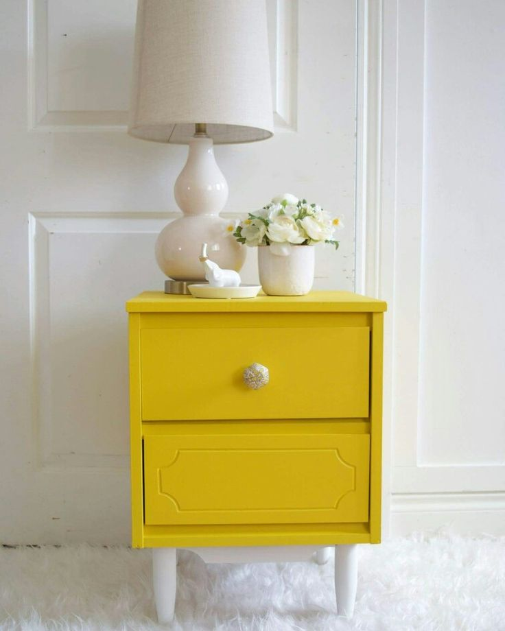 Best 25 Yellow Nightstand Ideas On Pinterest Yellow