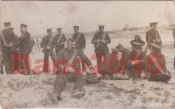 Guerra del Rif - Fotografia Antigua 9x5,5 cm +/- - Foto 1