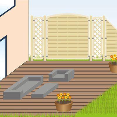 Holz Terrassenbelag Muster Verlegen. die besten 25+ ...