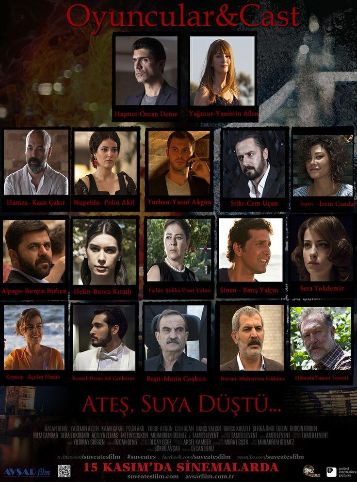 Su Ve Ateş | Oyuncular & Cast   #suveates Sinemalarda!
