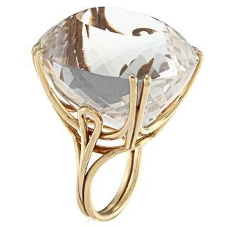Topaz Handmade Cocktail Estate Ring
