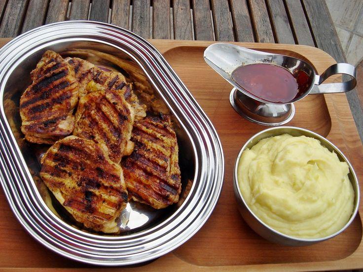 Nem vagyok mesterszakács: Ropogós fajita grill csirkecombok francia krumplipürével