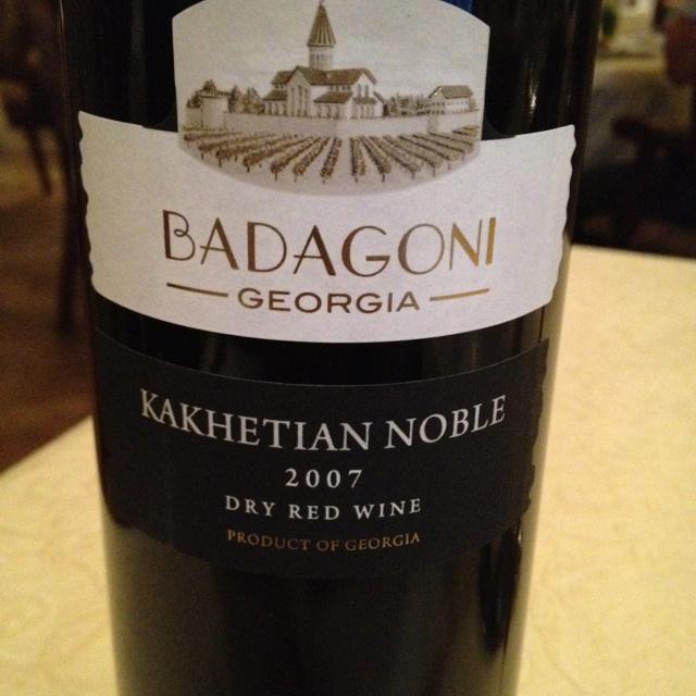 Great Georgian wine :-)