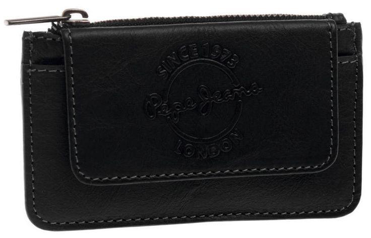 Monedero especial de piel de la marca de moda Pepe Jeans London, una cartera de caballero de gran calidad y acabados