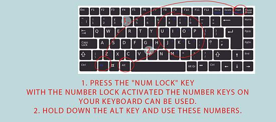 "How to Type Symbols Using the ALT Key ♥♥♥ I feel like I should have an ""I feel dumb now"" board!"