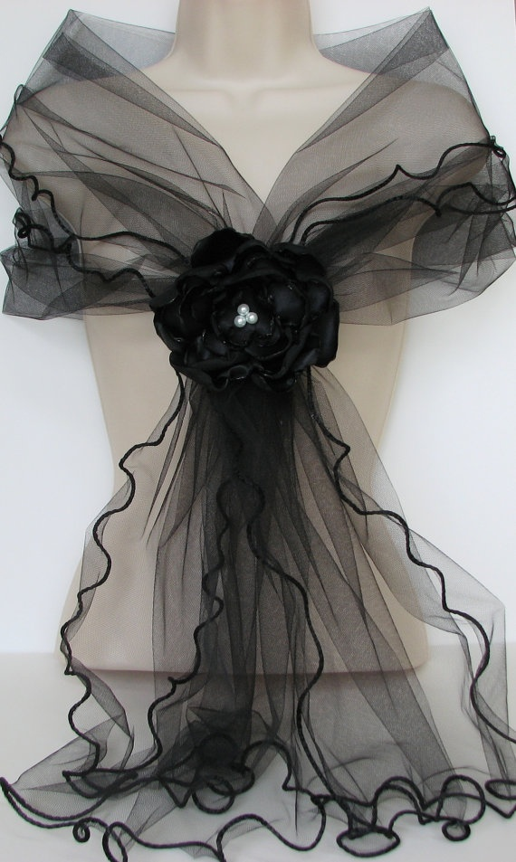 Tulle Wrap
