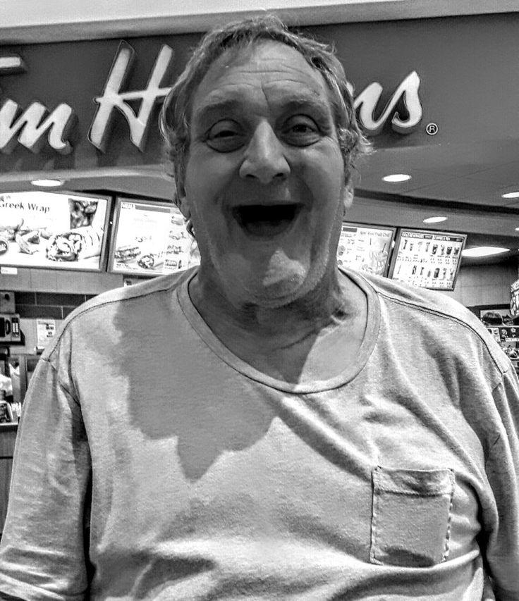 Smile ... Terry Smith ... Halifax Nova Scotia ... Photo Kirk Douglas Wilson