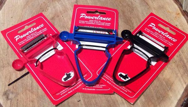 Includes Chip Maker / Dicer Storage Case Red Julienne peeler Plus ( starter Pack) Black Polyzand peelerBlue Polyzand peelerThin Strip slicer (Shredder)Thick St