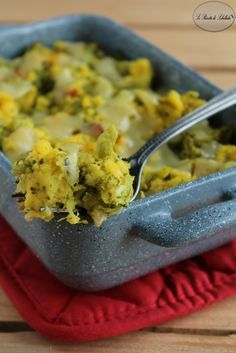 Pasticcio di patate e broccoli