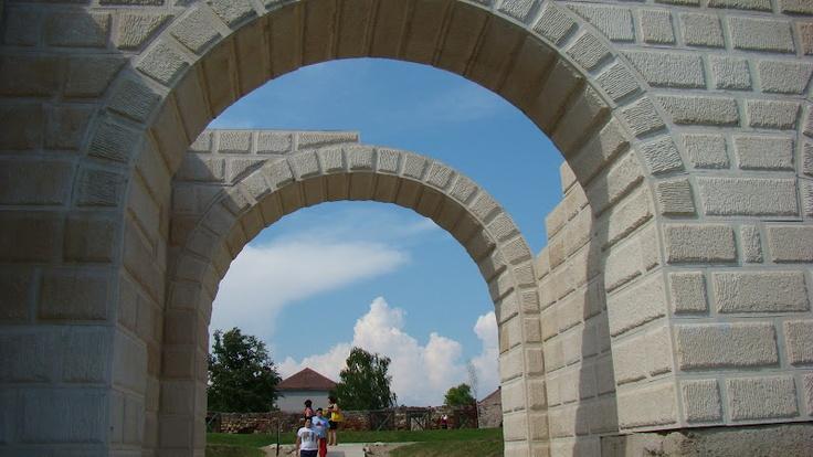 Poarta Castrului Roman Alba Iulia