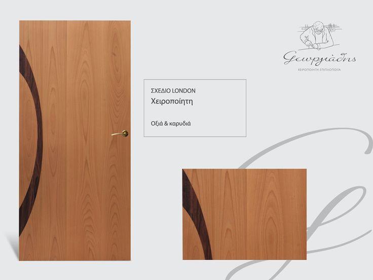 handmade wooden door_code: London / by Georgiadis #handmade #wooden #door #marqueterie