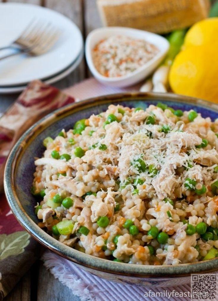 3. #israélienne Couscous au #poulet et petits pois - 26 #recettes de Couscous #simple et délicieux... → Food