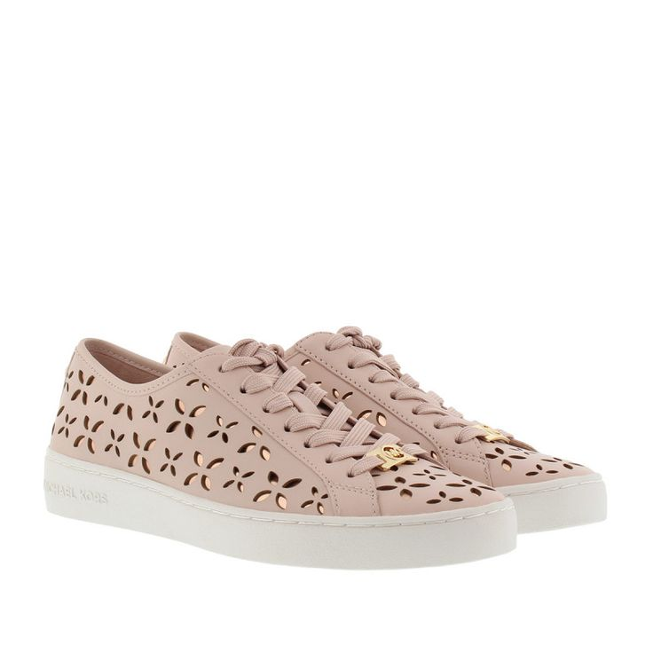 nice Michael Kors Michael Kors Sneakers - Keaton Sneaker Lasered Leather Soft Pink/Ballet - in rosa - Sneakers für Damen Check more at http://portal-deluxe.com/produkt/michael-kors-michael-kors-sneakers-keaton-sneaker-lasered-leather-soft-pinkballet-in-rosa-sneakers-fuer-damen/