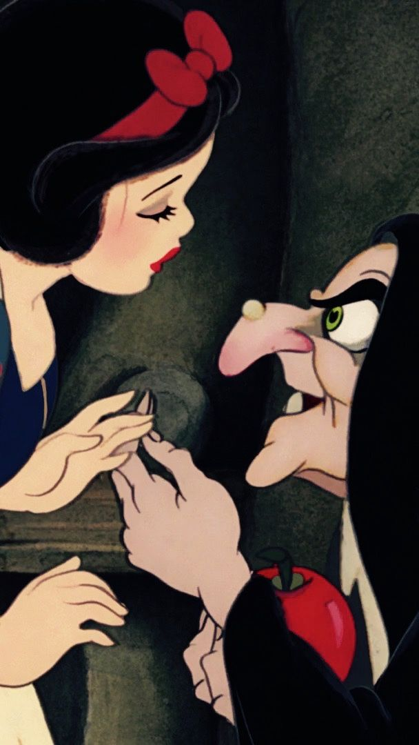 *SNOW WHITE & THE OLD HAG/EVIL QUEEN ~ Snow White and the Seven Dwarf's, 1937