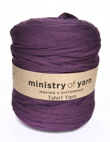 English Lavender Oddball T-shirt Yarn