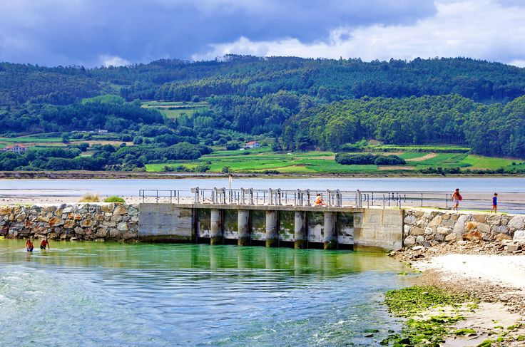 A Coruña La Corogne Galice Espagne 528 - Praia Da Pedra Do Sal, Marismas de Baldaio, la lagune
