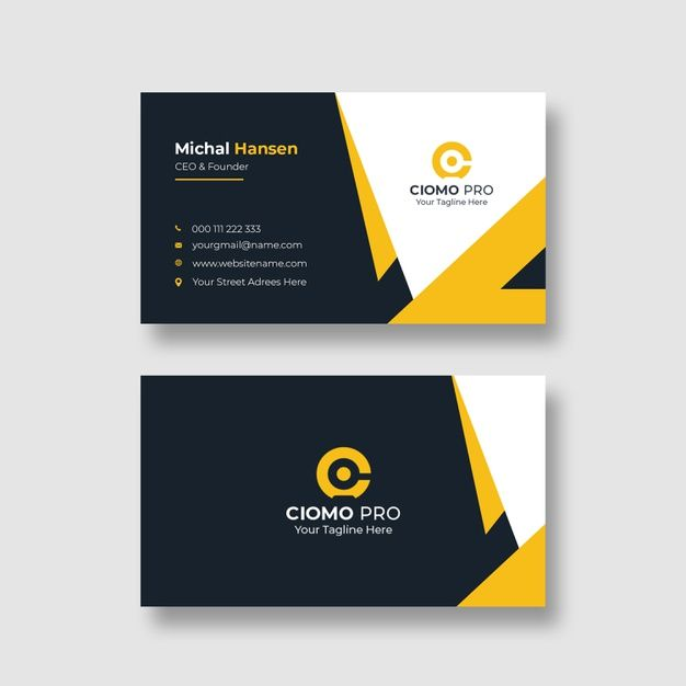 Download Corporate Clean Business Card Template For Free Business Card Mock Up Business Card Design Business Cards Creative Templates