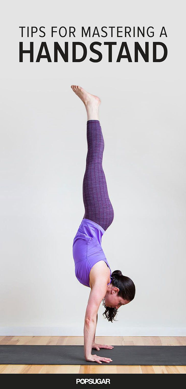 Want to Do a Handstand? 8 Moves to Get You There