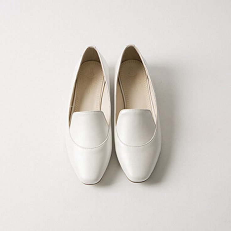 Hot Sale Women's Flat Shoes Genuine Leather Women Casual White Flats Brand Sweet Women's Flat Shoes Oxford Shoes Women Loafers