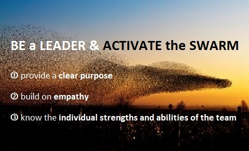 Prof Wolfgang Jenewein from the University St.Gallen introduces the innovative leadership approach of 'Activating the #Swarm' to tackle complex, quickly evolving issues requiring the application of multiple abilities working together harmoniously and purposefully. // Prof. Dr. Wolfgrang Jenewein über Schwarmintelligenz.
