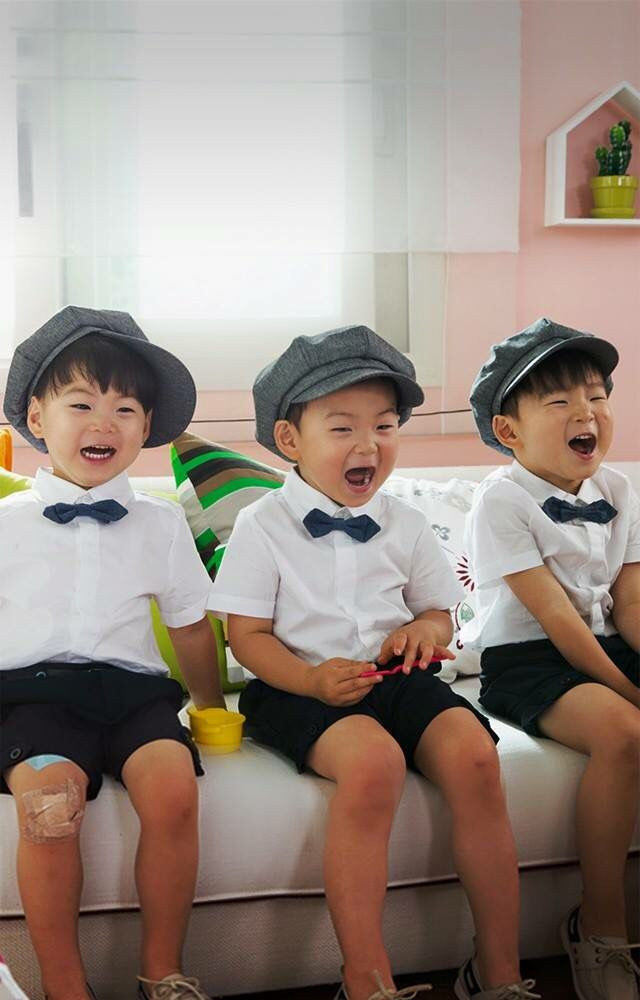 Happy Triplets #daehan #minguk #manse #songtriplets #thereturnofsuperman