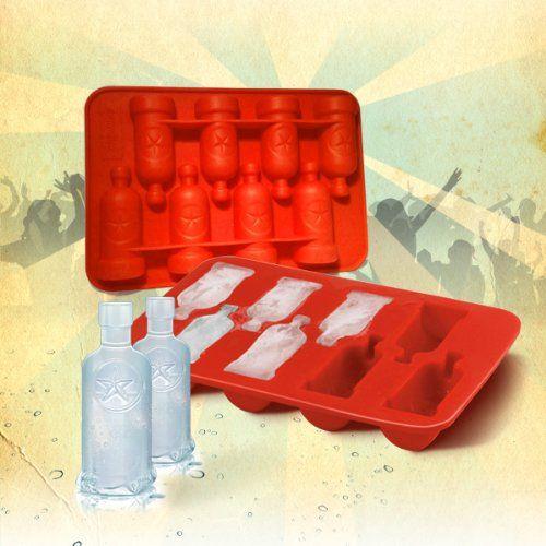 Vodka Bottle Silicone Ice Tray