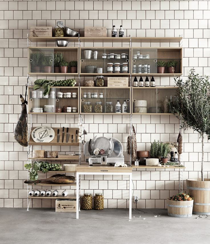 string® -The timeless shelving system by the Swedish architect Nils Strinning is a truly minimalistic design icon.The super flexible string® system is equally well suited for the modern home and urban compact living as it is for offices.
