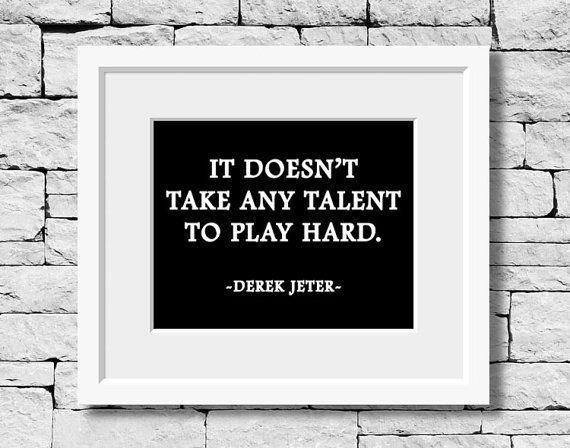 Derek Jeter #baseball #quote