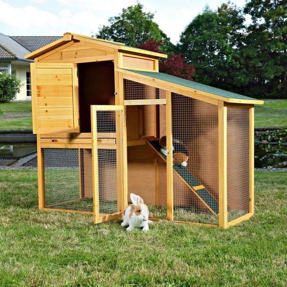 Resultado de imagen para techos para casa de conejoscasas de conejos