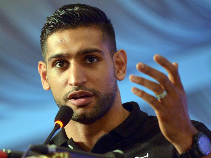 Amir Khan sends apologetic message to Anthony Joshua after claims of affair with wife are revealed as 'false'