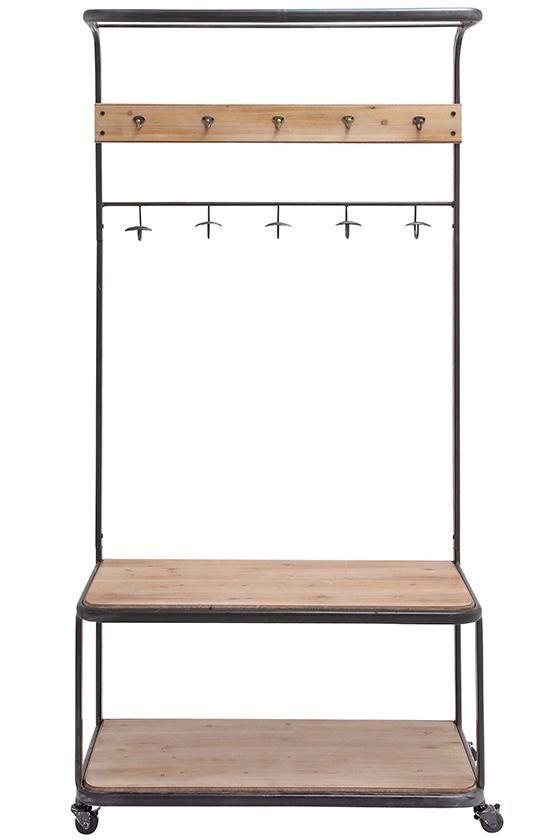 best 25 hanging clothes racks ideas on pinterest hanging clothes diy clothes hanging and diy. Black Bedroom Furniture Sets. Home Design Ideas