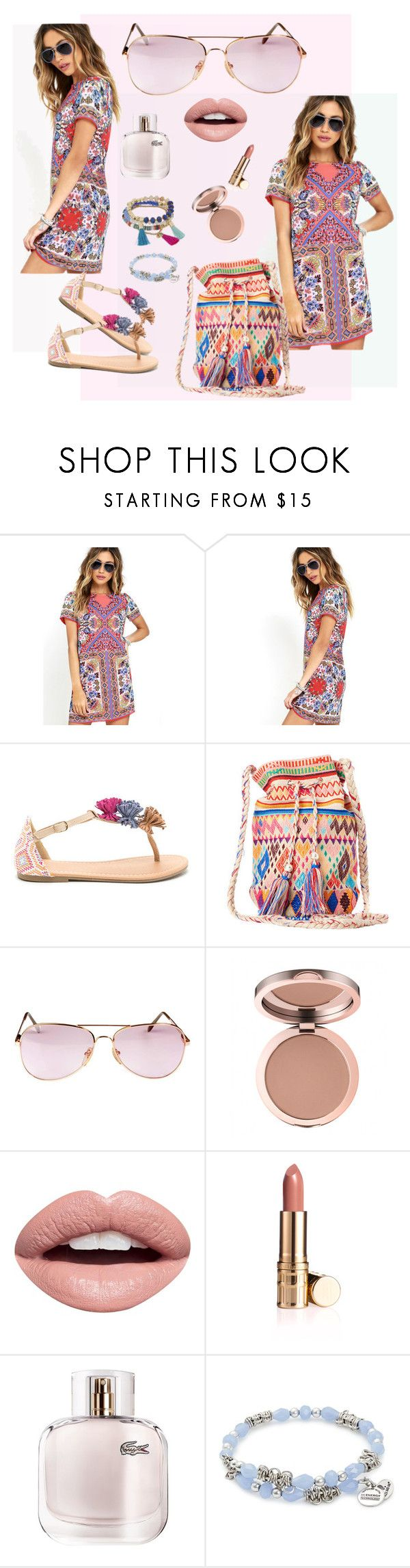 Daily ethnic style by fantastic-sunglasses on Polyvore featuring, Girard vintage sunglasses 80s, LULUS, Star Mela, Alex and Ani, Vintage Eyewear, Nevermind, Lacoste and vintage https://www.etsy.com/listing/499152954/girard-vintage-sunglasses-80s-made-in?ref=shop_home_active_59