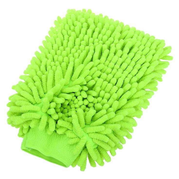 1 pcs neuen autopflege ultrafeinen faser chenille anthozoan nudel mikrofaser autowaschanlage handschuh handschuh für pkw-waschanlagen& Reinigung freien shipp