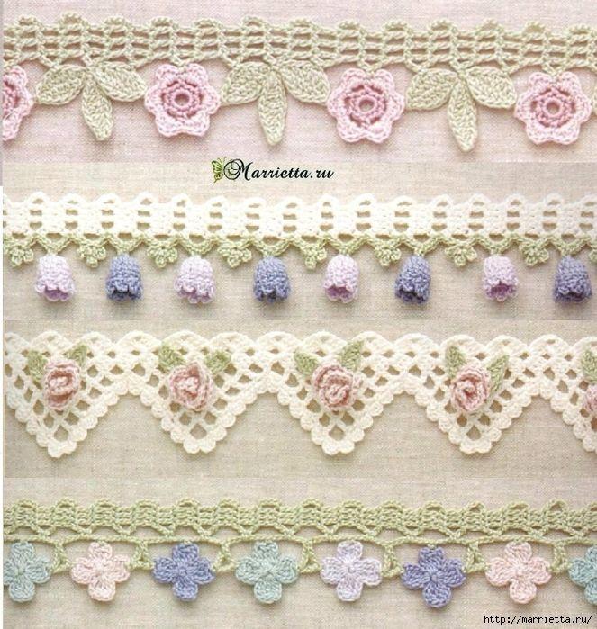30 best Ой, какая прелесть) images on Pinterest   Crocheting, Filet ...