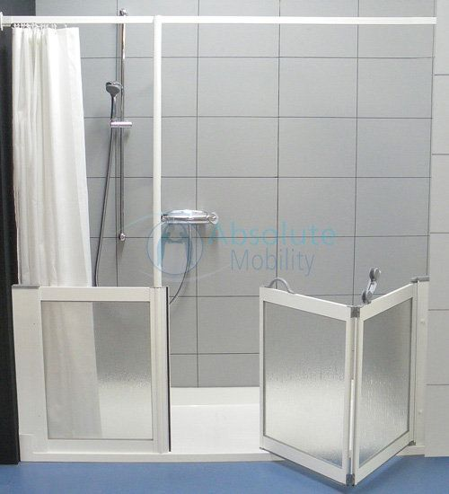 disabled showers shower trays absolute mobilitydisabled showers