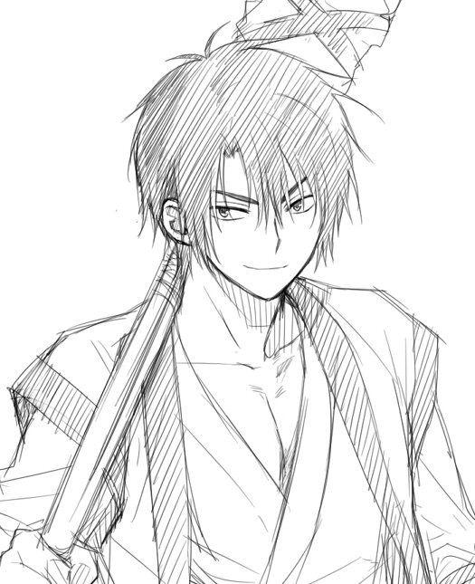 anime zeichnen boy: 17 Best Ideas About Anime Sketch On Pinterest