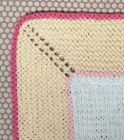 Whit's Knits: Simple Cotton Bath Mat