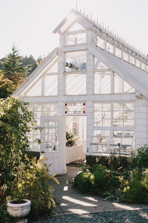 Conservatories & Greenhouses | Classic white Victorian with clearstory venting
