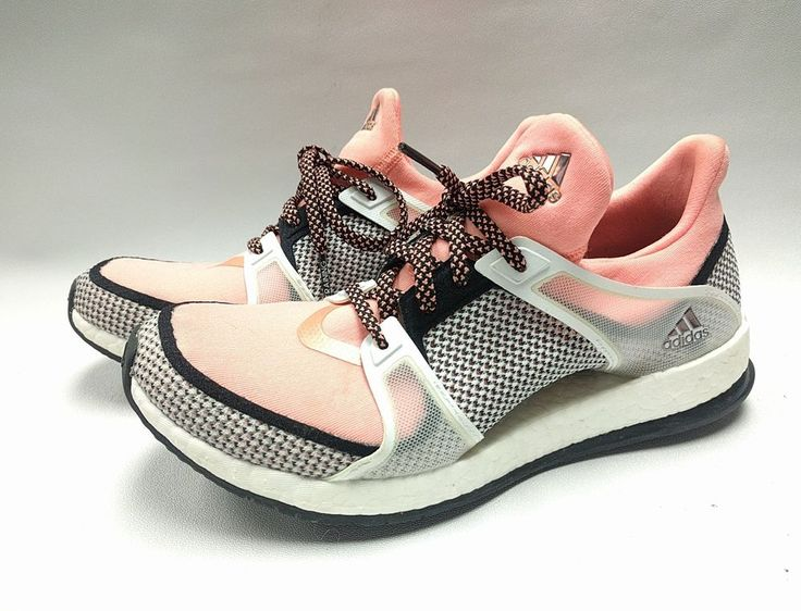 ADIDAS PURE BOOST X TRAINER WOMENS TRAINING SHOES US SIZE 7.5 M White Black Pink | Clothing, Shoes & Accessories, Women's Shoes, Athletic | eBay!