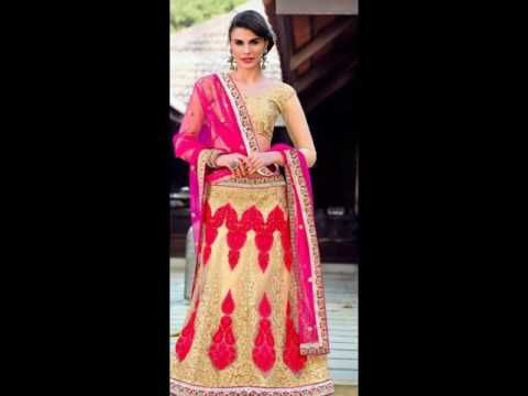A full array of colours and embroideries are available at unbelievable prices. Be it a fish style, straight fit or just a simple flared lehenga, we at Indian...