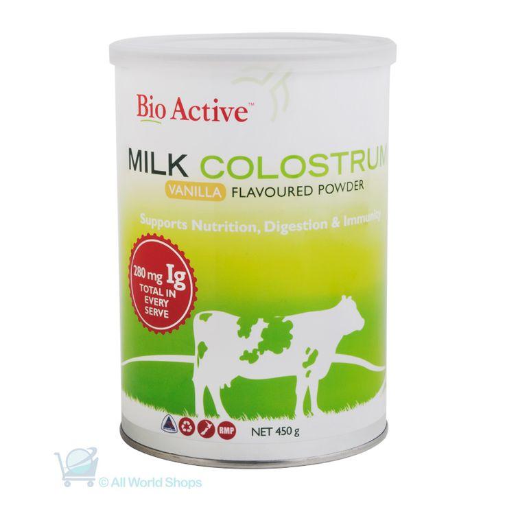 Colostrum Milk Powder - Vanilla Flavour - Bio Active - 450g | Shop New Zealand NZ$27.90