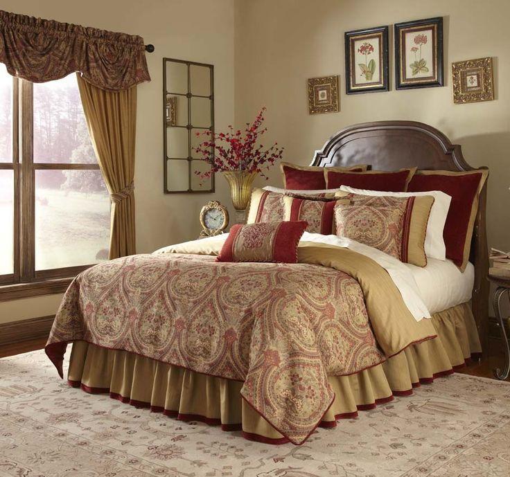 With Love Home Decor Veratex Cordovan 10 Piece Bedding