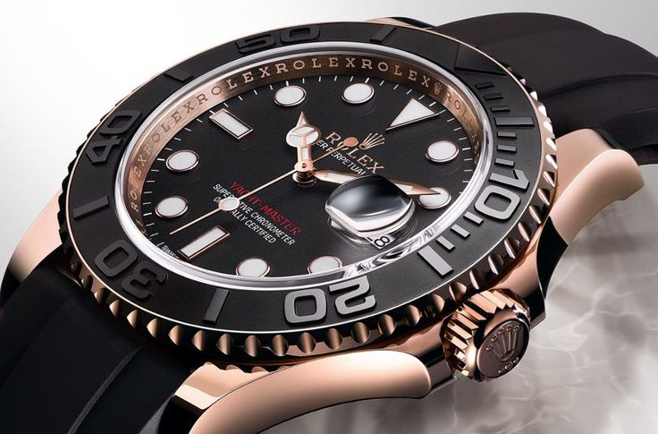 Rolex gets slick with the all-new Oyster Perpetual Yacht-Master 'Everose'