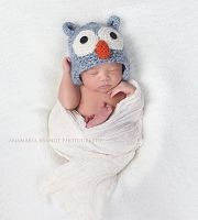(TP) Baby Blue Owl Hat
