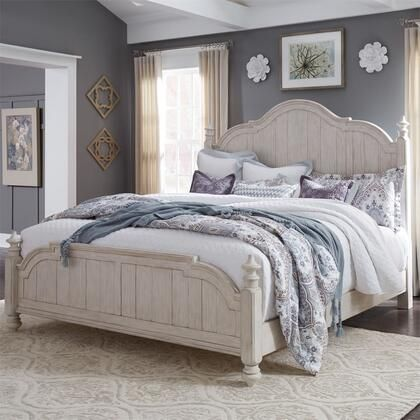 Liberty Furniture Queen Size Bed 652brqps Antique White Liberty Furniture Farmhouse Bedroom Furniture White Panel Bedroom Set