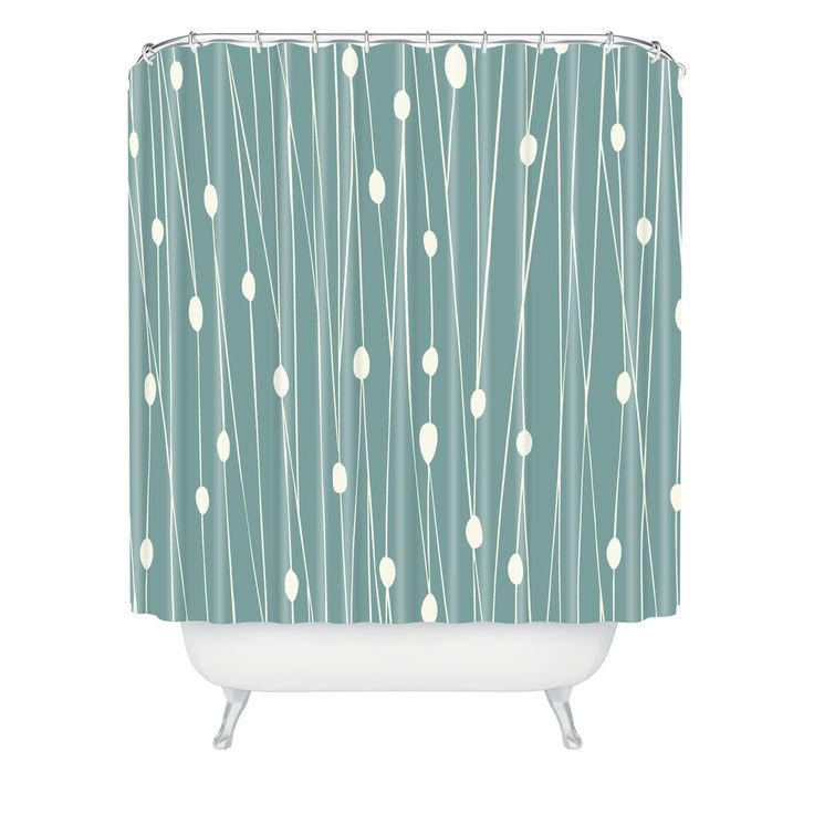 $90 Heather Dutton Entangled Shower Curtain | DENY Designs Home Accessories