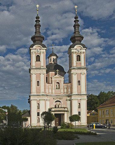 Kreuzkirche. Villach, Carinthia, Austria