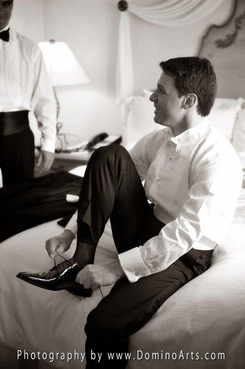 portrait by DominoArts (www.DominoArts.com) #Photography #Wedding #Groom